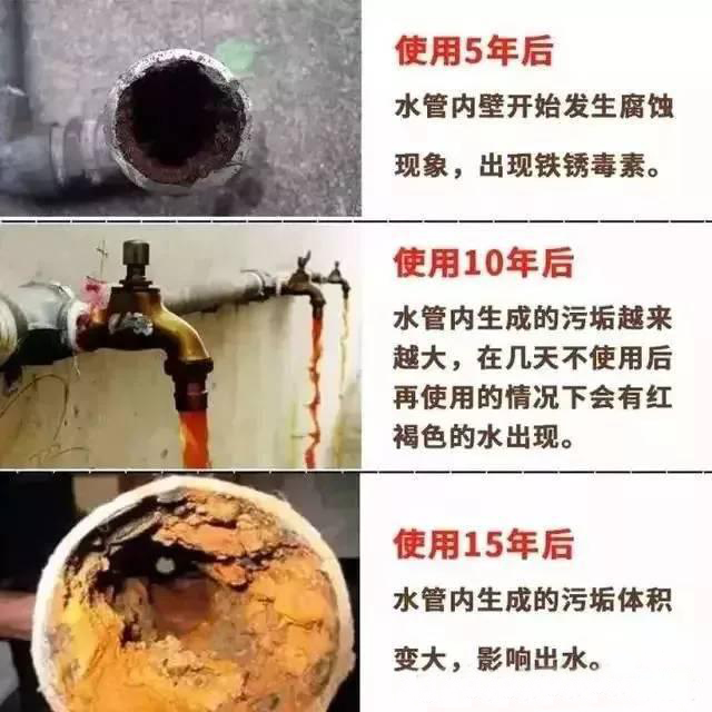 家里从未清洗过的水管不忍直视,水管清洗市场怎么样?